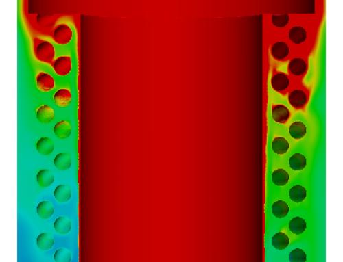 Intercambiador de calor de una caldera de condensación
